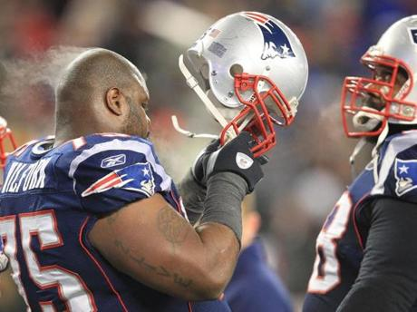 """To be honest with you, Vince was ready last week to play this game,'' linebacker Jerod Mayo said of Wilfork."
